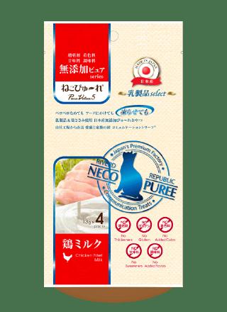ねこぴゅ~れ乳製品select鶏ミルク