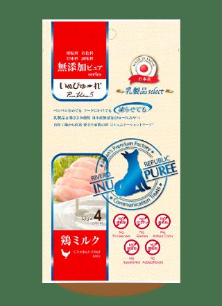 いぬぴゅ~れ乳製品select鶏ミルク